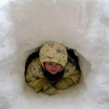 Enfant igloo
