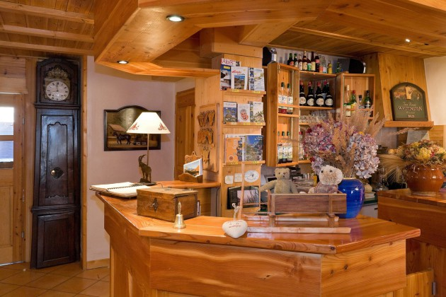 The Chalet Hotel Reception