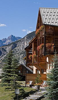 A mountain Chalet Hotel