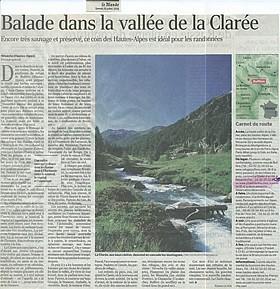 Le Monde - Juillet 2008