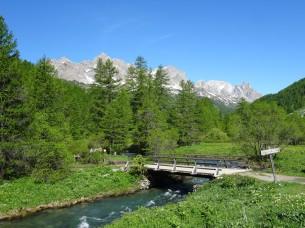 Along the Claree river - Névache