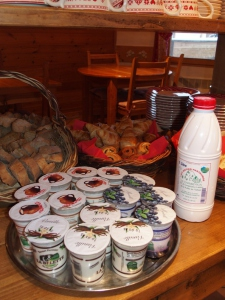 Local Products at the Chalet d'en Hô