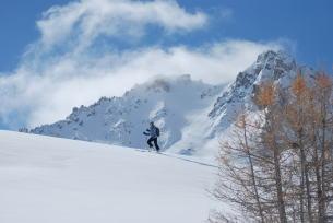Winter activities in Névache