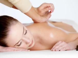 Massage lors de notre séjour détente