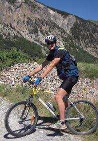 Mountain biking in Névache
