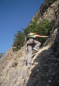 Rock climbing in Névache
