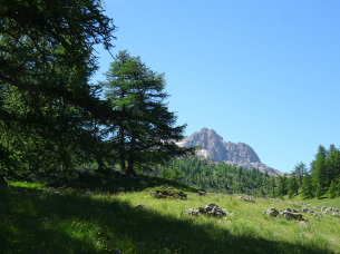 Buffère valley during the Relaxing self-guided hiking holiday