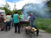 Barbecue à la Fête de la Transhumance