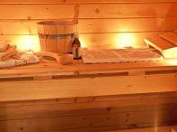 Sauna at the Chalet d'en Hô