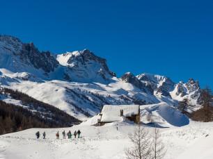 Snowshoeing in Névache