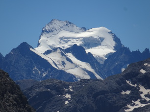 Barre des Ecrins seen from the Claree valley