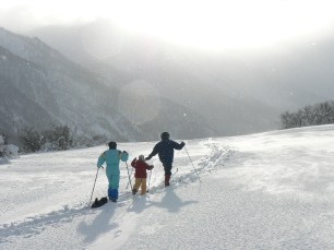 Cross Country Skiing in Névache