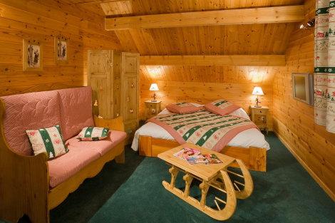 Room at the Chalet d'en Hô