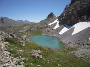 The Clarée lake