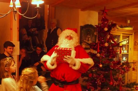 Santa Claus at the Chalet d'en Hô