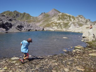 Child in the Clarée valley